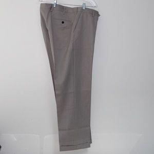 Berle Men's Tan Dress Pants - Size 36x30